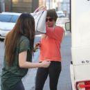Ashley Tisdale: ran errands in Los Angeles