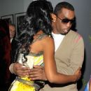 Puff Daddy and Kim Porter - 454 x 776