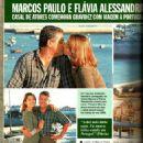 Marcos Paulo and Flavia Alessandra - 1999
