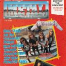 Metallica - Metal Forces Magazine Cover [United Kingdom] (August 1989)
