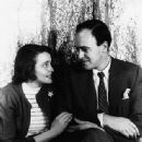 Patricia Neal and Roald Dahl