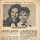 Donna Reed - TV Magazine Pictorial [United States] (16 July 1961)