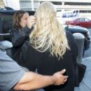 Jessica Simpson – Arrives at LAX Airport in LA - 454 x 681