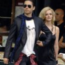 Jared Leto and Lydia Hearst-Shaw
