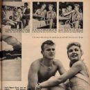 Lori Nelson and Tab Hunter - Movie World Magazine Pictorial [United States] (December 1955) - 454 x 605