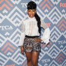 Angela Lewis – 2017 FOX Summer All-Star party at TCA Summer Press Tour in LA - 454 x 660