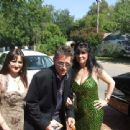 Jeff Conaway, Vikki Lizzi & Helen Darras about to get into their limo to attend the 2008 TV Land Awards Show.