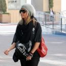 Ashley Tisdale: Shopping in Beverly Hills at Burberry