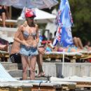 Stephanie Pratt – Bikini on holiday in Croatia - 454 x 459