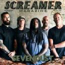 Clint Lowery, John Connolly, Lajon Witherspoon, Morgan Rose, Vince Hornsby - Screamer Magazine Cover [United States] (October 2015)