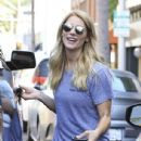 Ashley Greene spotted getting her manicure on at a salon in Beverly Hills, California on April 22, 2017 - 436 x 600