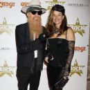 Billy Gibbons and his wife Gilligan attend the classic Rock Roll of Honour on November 13, 2012 - 377 x 594