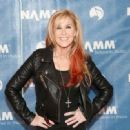 Guitarist Lita Ford attends the 2015 National Association of Music Merchants show at the Anaheim Convention Center on January 23, 2015 in Anaheim, California