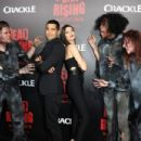 Actress Meghan Ory arrives at the premiere of Crackle's