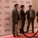 Jonas family @ Beverly Hilton hotel for Father Of The Year