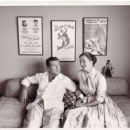 Robert Preston with Wife - 454 x 369