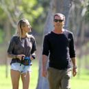 Sophia Thomalla and Gavin Rossdale at a Park in Los Angeles