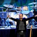 Ringo Starr performs during the Ringo Starr and his All Starr Band concert at The Greek Theatre on September 01, 2019 in Los Angeles, California - 454 x 344