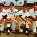 The Yankee Infield- Boyer, Kubek, Richardson & Pepitone - 454 x 316
