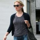 Anna Paquin heads to the Arclight theater for a movie with Stephen Moyer