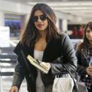 Priyanka Chopra at LAX International Airport in Los Angeles - 454 x 643