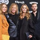 David Bryan of Bon Jovi, and family attend the 33rd Annual Rock & Roll Hall of Fame Induction Ceremony at Public Auditorium on April 14, 2018 in Cleveland, Ohio - 454 x 309