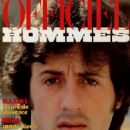 Sylvester Stallone - L'Officiel Hommes Magazine Cover [France] (October 1982)
