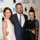 Ben Affleck, Rachel McAdams and Olga Kurylenko at the Los Angeles premiere of