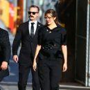 Elizabeth Olsen – Arrives at Jimmy Kimmel Live in Los Angeles