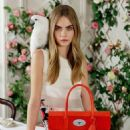 Cara Delvinge for Mulberry Spring 2014 Ad Campaign