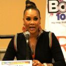 Vivica A. Fox attends the 2017 BE EXPO at the PA Convention Center in Philadelphia, Pennsylvania on March 25, 2017 - 454 x 568