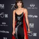Nina Dobrev–2017 HFPA and InStyle Golden Globe Season in LA