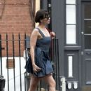 Daisy Lowe in Mini Dress – Out in London - 454 x 638