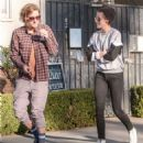 Kristen Stewart Out For Lunch With A Friend In Santa Monica