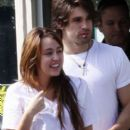 Random photos of Miley Cyrus, Justin Gaston - 397 x 551