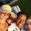 Amber Laign and Robin Roberts smile as they join a pal on vacation in Hawaii