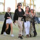 Lisa Rinna and Kyle Richards – 2018 Coachella Festival in Indio - 454 x 450