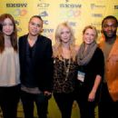 Brittany Snow and Evan Ross attended the premiere of her new movie 96 Minutes at South By Southwest today, March 12 in Austin, Texas