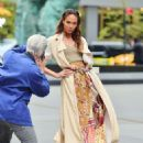Joan Smalls – Doing a photoshoot in New York - 454 x 633