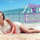 África Zavala- TVyNovelas Mexico Magazine July 2013 - 454 x 319