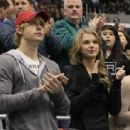 Taylor Swift - The Minnesota Wild vs. the Los Angeles Kings NHL hockey game in Los Angeles, CA - February 24, 2011