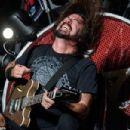 Foo Fighters in South Korea on July 26, 2015