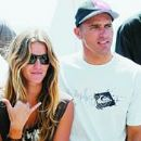 Gisele Bundchen and Kelly Slater