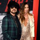 Nikki Sixx arrives at the premiere of Netflix's