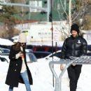 Dakota Johnson – Having fun skiing in Aspen