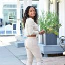 Christina Milian – Running errands in the Valley, Los Angeles