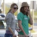 Mischa Barton and Cisco Adler