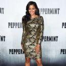 Claudia Jordan – 'Peppermint' Premiere in Los Angeles - 454 x 664
