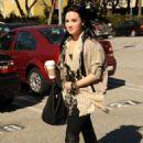 Demi Lovato - Out & About In Santa Monica, 28-01-11