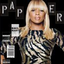 Mary J. Blige - Paper Magazine Cover [United States] (October 2011)